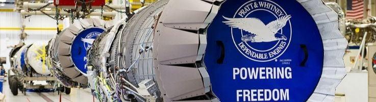 F135 Engine Pratt and Whitney Liberty Electronics